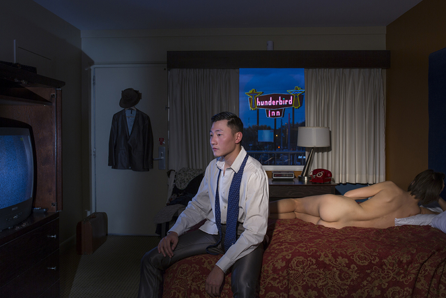 , 'One Night in Thunderbird Inn,' 2015, HAZA