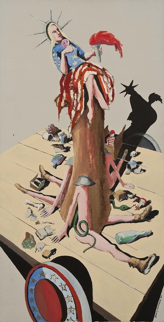 , 'Liberty #6 (Study for Trash),' 1971, Michael Rosenfeld Gallery