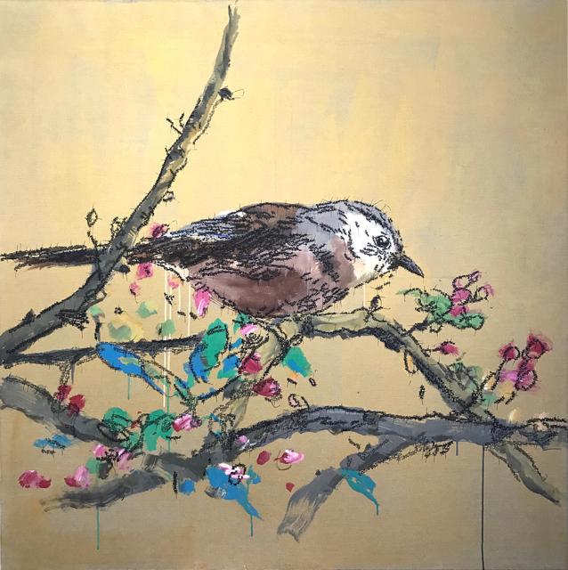 , 'Flowers & Sparrow,' 2017, Longmen Art Projects
