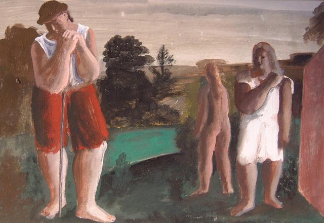 , 'Pastoral 18,' ca. 1948, Boundary Gallery