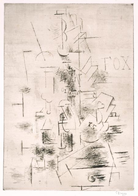 Georges Braque, 'Fox', 1911, Blanton Museum of Art