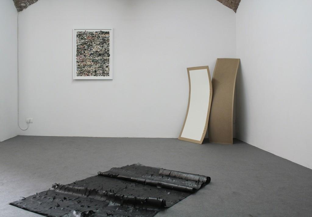 To be titled by João Freitas Exhibition view Galleria FuoriCampo, Siena