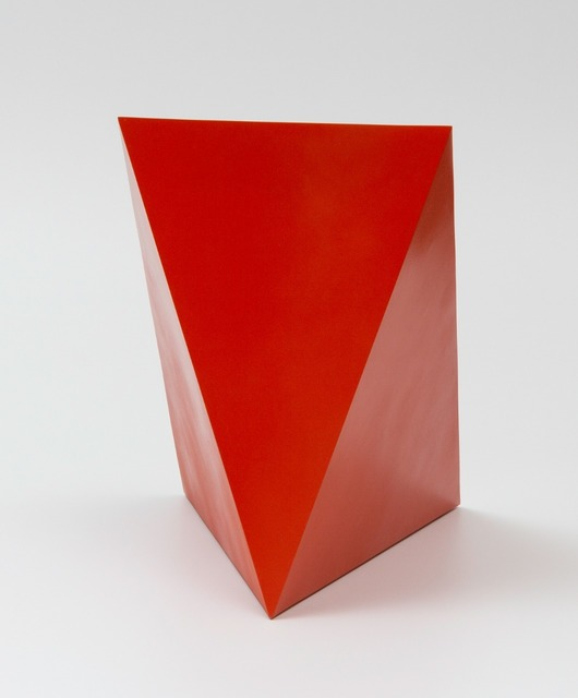 Sérvulo Esmeraldo, 'Pyramid', 2015, Sculpture, Painted corten steel, Galeria Raquel Arnaud