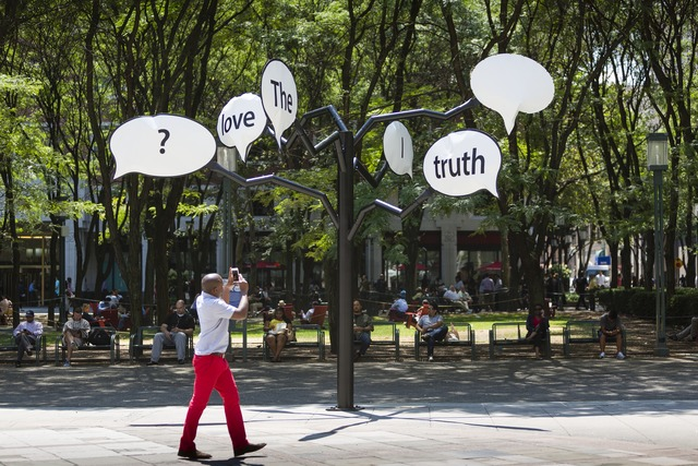 , 'The Truth is I Love You,' 2015, Public Art Fund