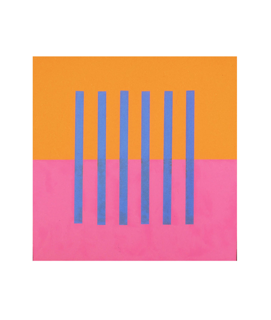 , 'Visual Logic (blue, rose, orange),' 2003, Estrada Fine Art