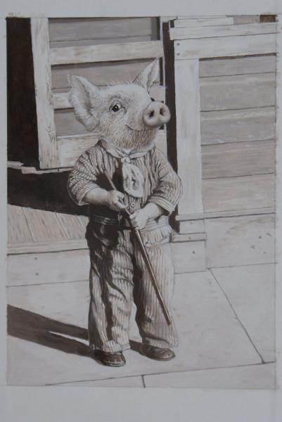 , 'Little Big Man,' 2017, Wally Workman Gallery