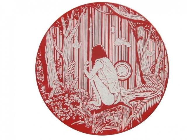 , 'Dreamy Gaze #5,' 2008, Mark Moore Fine Art