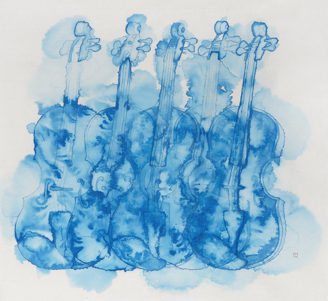 , 'Violin,' 2019, Karin Weber Gallery