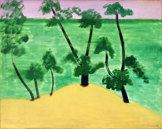 Milton Avery, 'Trees by Southern Sea', 1959, Yares Art