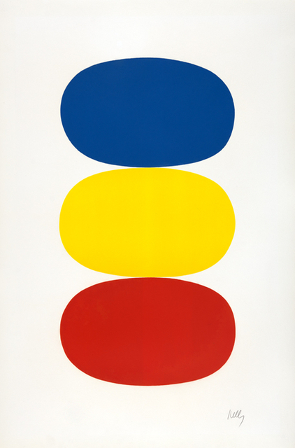 , 'Blue and Yellow and Red-Orange,' 1964-1965, Susan Sheehan Gallery