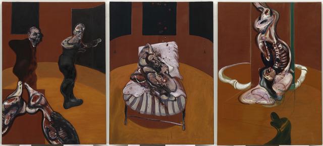 , 'Three Studies for a Crucifixion,' 1962, Guggenheim Museum Bilbao