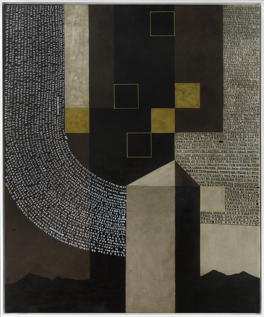 , 'A.B.: Big Unit,' 2013, Galería Heinrich Ehrhardt