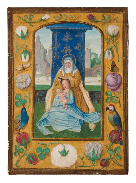 , 'Virgin and Child with St. Anne (Anna Selbdritt),' 1510-1520, Dr. Jörn Günther Rare Books