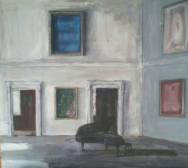 , 'Piano Room,' 2016, Purdy Hicks Gallery