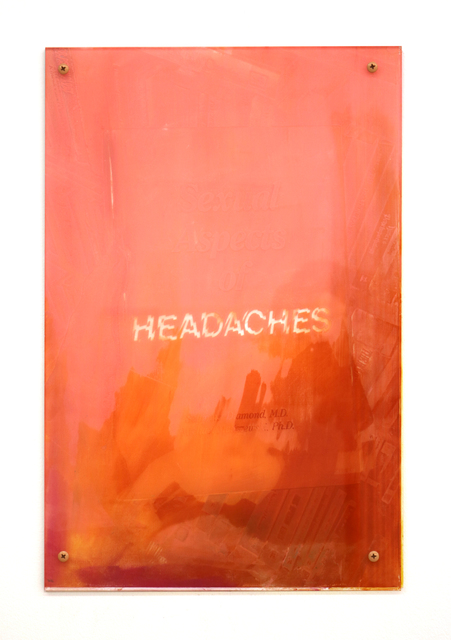 , 'Headaches 2,' 2017, Halsey McKay Gallery
