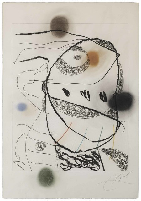 Joan Miró, 'Les Orfèvres: one plate', 1971-73, Christie's