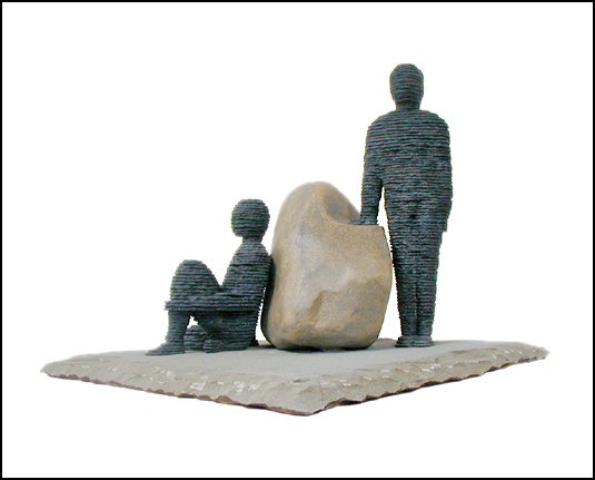 Boaz Vaadia, 'Ge'u'el & Binyamin', 2002, Zemack Contemporary Art