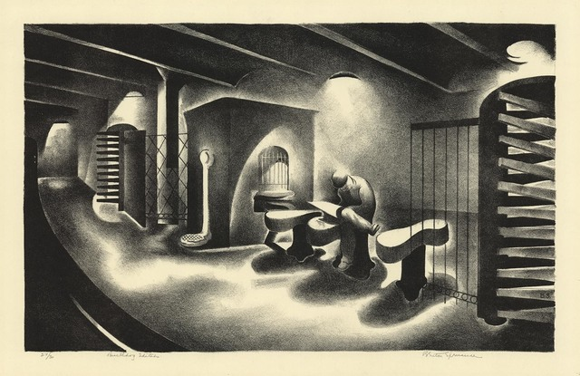 Benton Spruance, 'Bulldog Edition.', 1932, Print, Lithograph, The Old Print Shop, Inc.