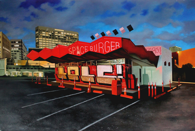 , 'Spaceburger ,' 2018, Hashimoto Contemporary