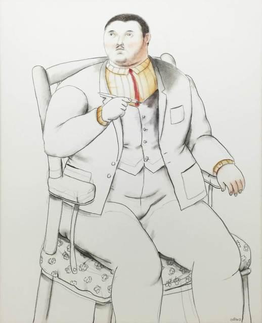 , 'Seated Man ,' 2013, Gary Nader
