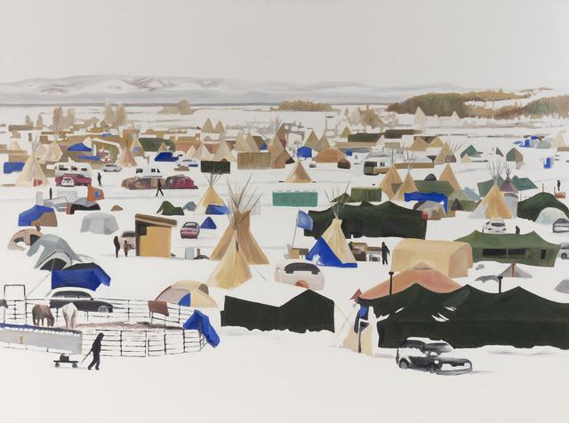 , 'Standing Rock,' 2018, Desta Gallery