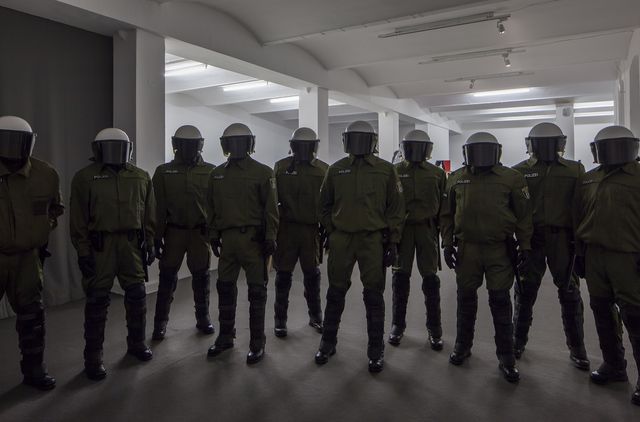 , 'Polizei,' 2015, KW Institute for Contemporary Art