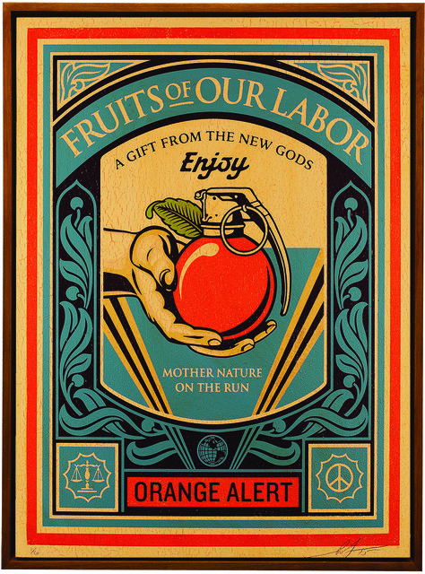 Shepard Fairey (OBEY), 'Fruits of our Labor', 2015, Underdogs Gallery