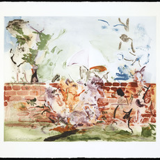 Cecily Brown, 'Color Etching with Brick Wall', 2003, Two Palms