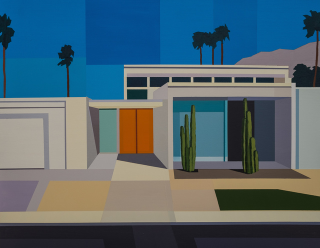 , 'Palm Springs House II,' 2017, Cynthia Corbett Gallery