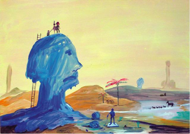 , 'Sphinx,' 2015, India Dickinson