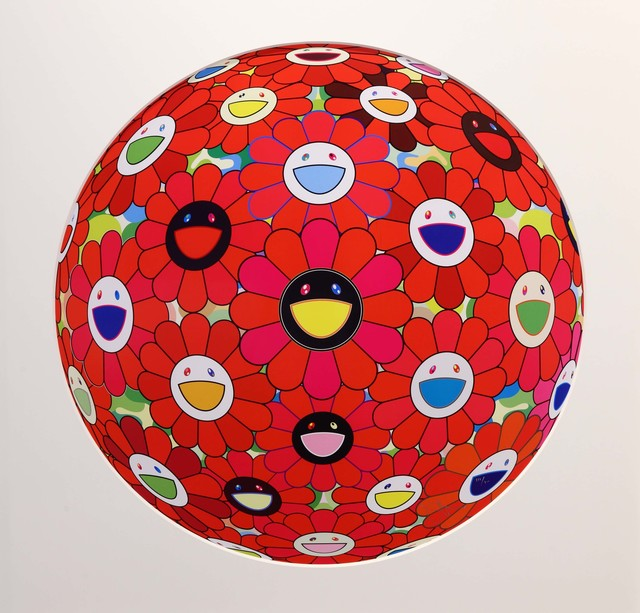 , 'Flowerball (3D) - Red, Pink, Blue,' , Eternity Gallery
