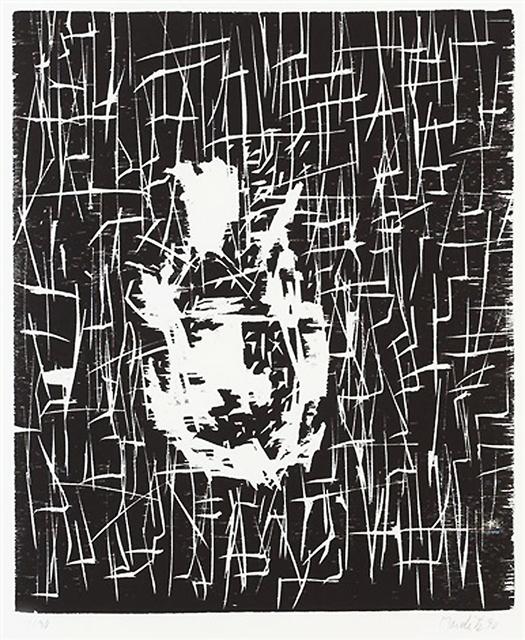 Georg Baselitz, 'Dresdner Frau I', 1990, MLTPL