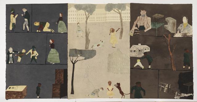 , 'Fördelningen av arvet (the distribution of inheritance),' 2017, Zeno X Gallery