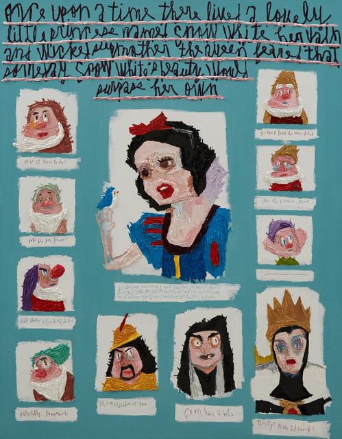 Woo Kuk Won, 'Snow White', 2020, Painting, Oil on canvas, ATELIER AKI