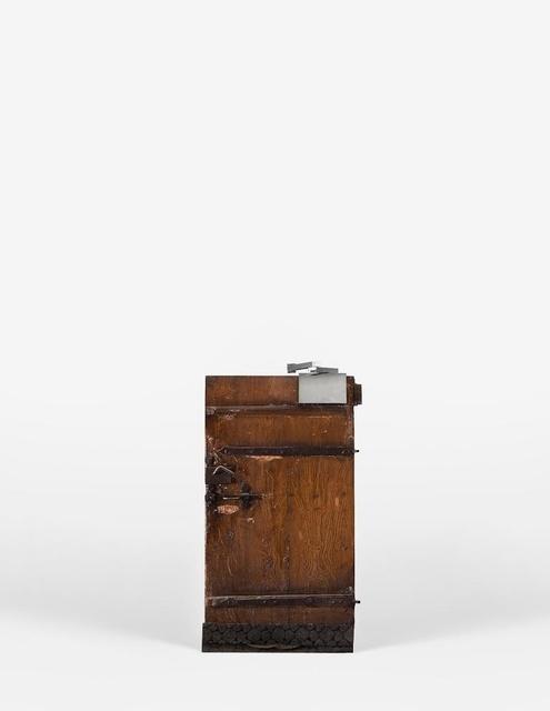 , 'Hesitating Door,' 2009, Galerija VARTAI
