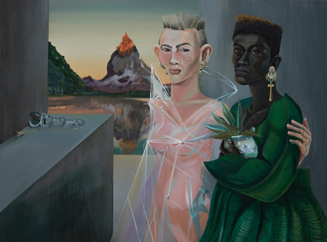 , 'Couple of Collectors,' 2018, Charles Moffett