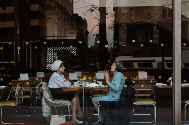 , 'Two Ladies in a Cafeteria, Uptown West, New York,' 1984, GALLERY FIFTY ONE
