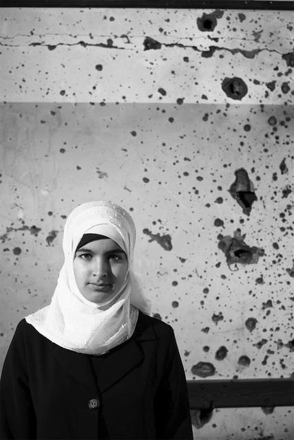 , 'Girl Against a Wall,' 2011, Q0DE