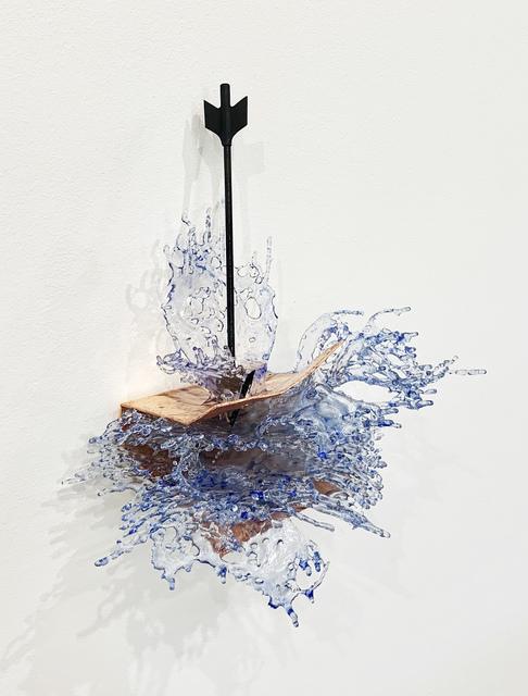 Annalù, 'Watertales n2', 2019, Galleria Punto Sull'Arte