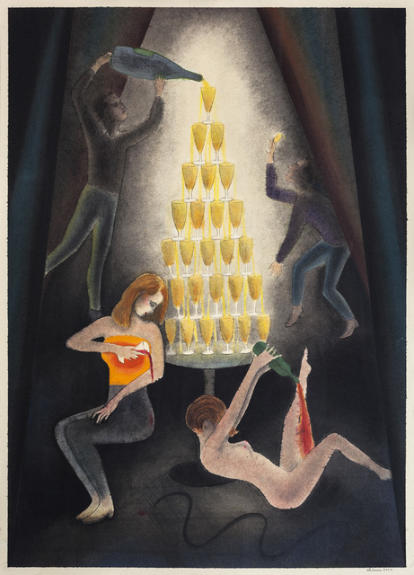 , 'Die Vorgeglühten,' 2014, Galerie Kleindienst