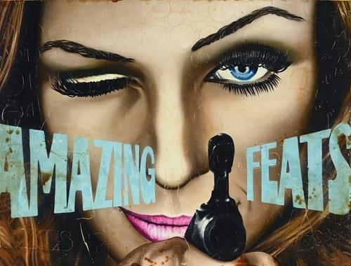 , 'Amazing Feats,' 2018, Ace Type