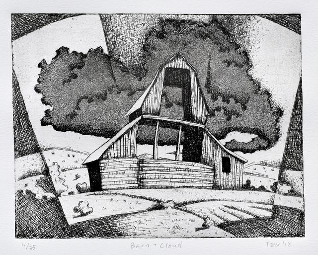 , 'Barn & Cloud,' , Modernist Frontier