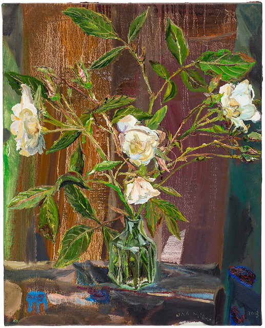 , 'White Rose,' 2013, Oliver Sears Gallery