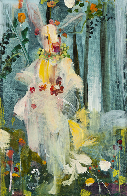 , 'Rabbit Flora –  After Botticelli's Primavera,' 2014, Sloan Fine Art