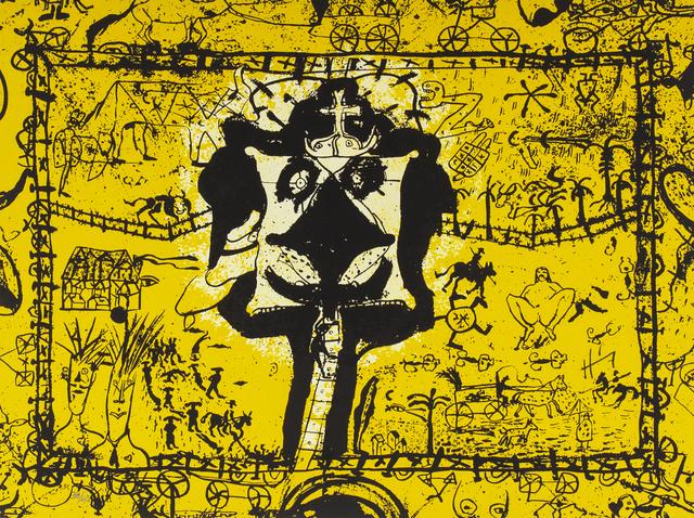 Sergio Hernández, 'Rancherìa', Bernardini Art Gallery & Auction House