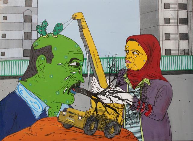 , 'Bulldozer,' , Contemporary Art Platform Kuwait