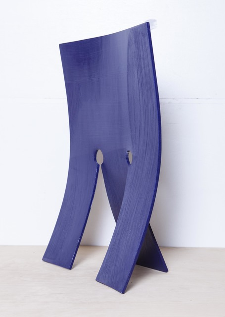 Jessica Warboys, 'Blue Mask', 2018, Sculpture, Plywood and acrylic paint, Whitechapel Gallery Benefit Auction