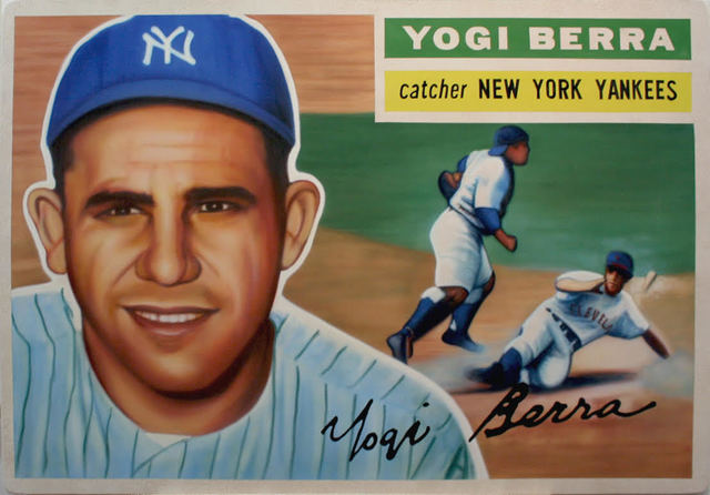 , '1956 Topps - Yogi Berra,' 2017, Axiom Contemporary