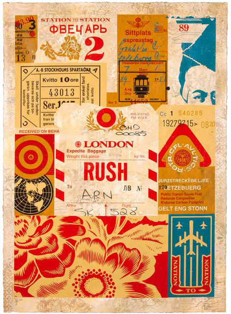 Shepard Fairey (OBEY), 'Station to Station IIII', 2012, V1 Gallery