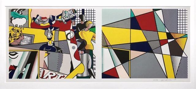 Roy Lichtenstein, 'Tel Aviv Museum', 1989, Vertu Fine Art